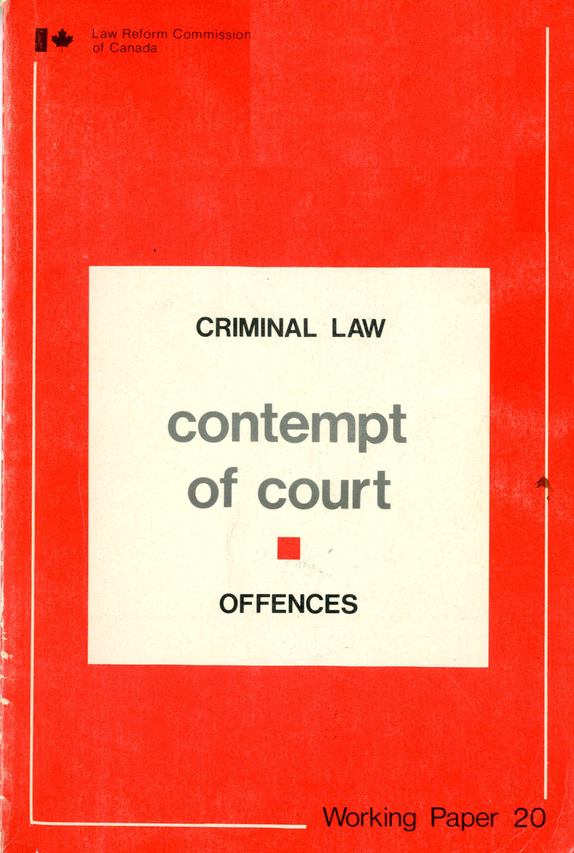 Contempt of Court Image