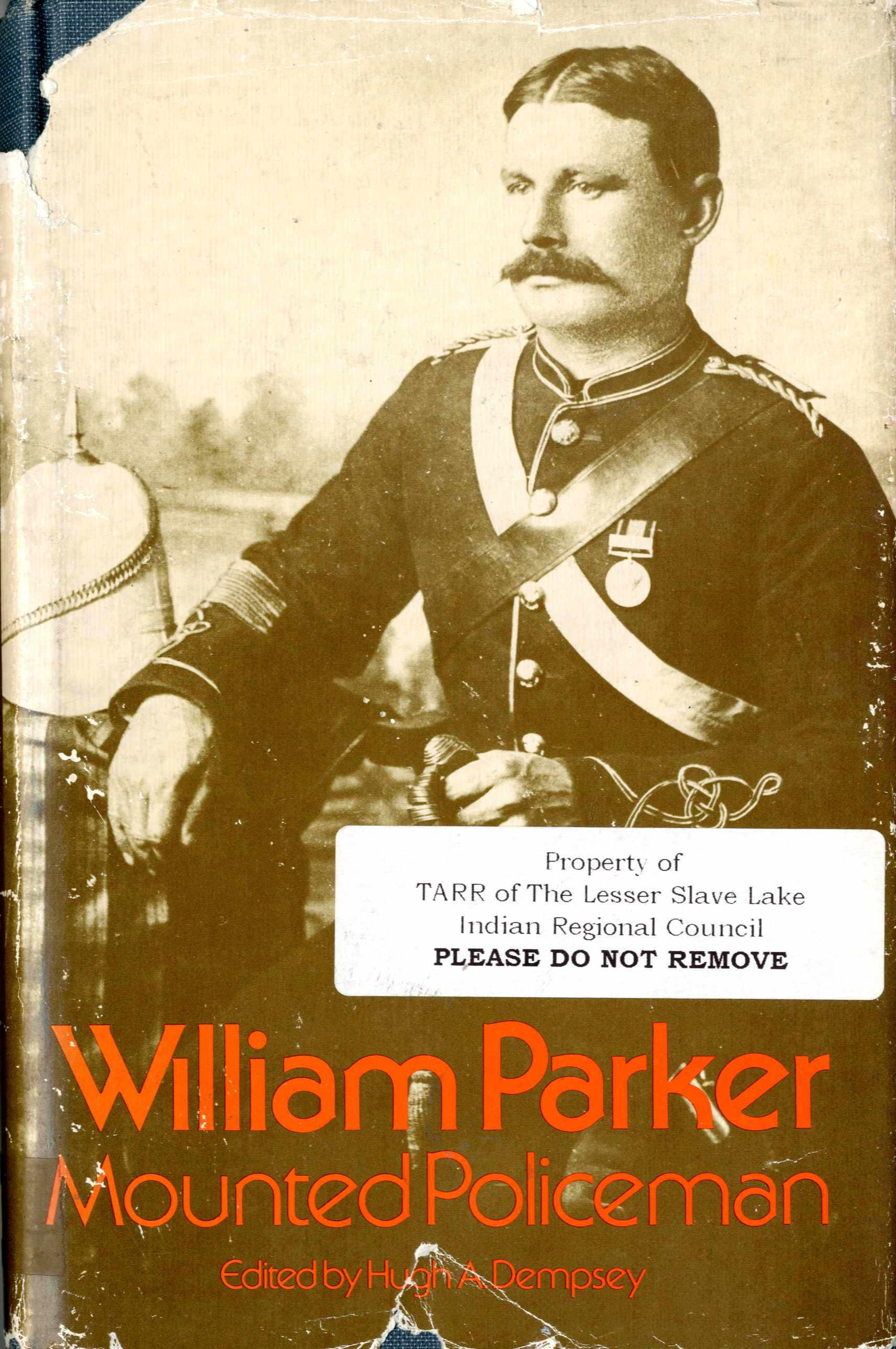 William Parker, Mounted Policeman Image