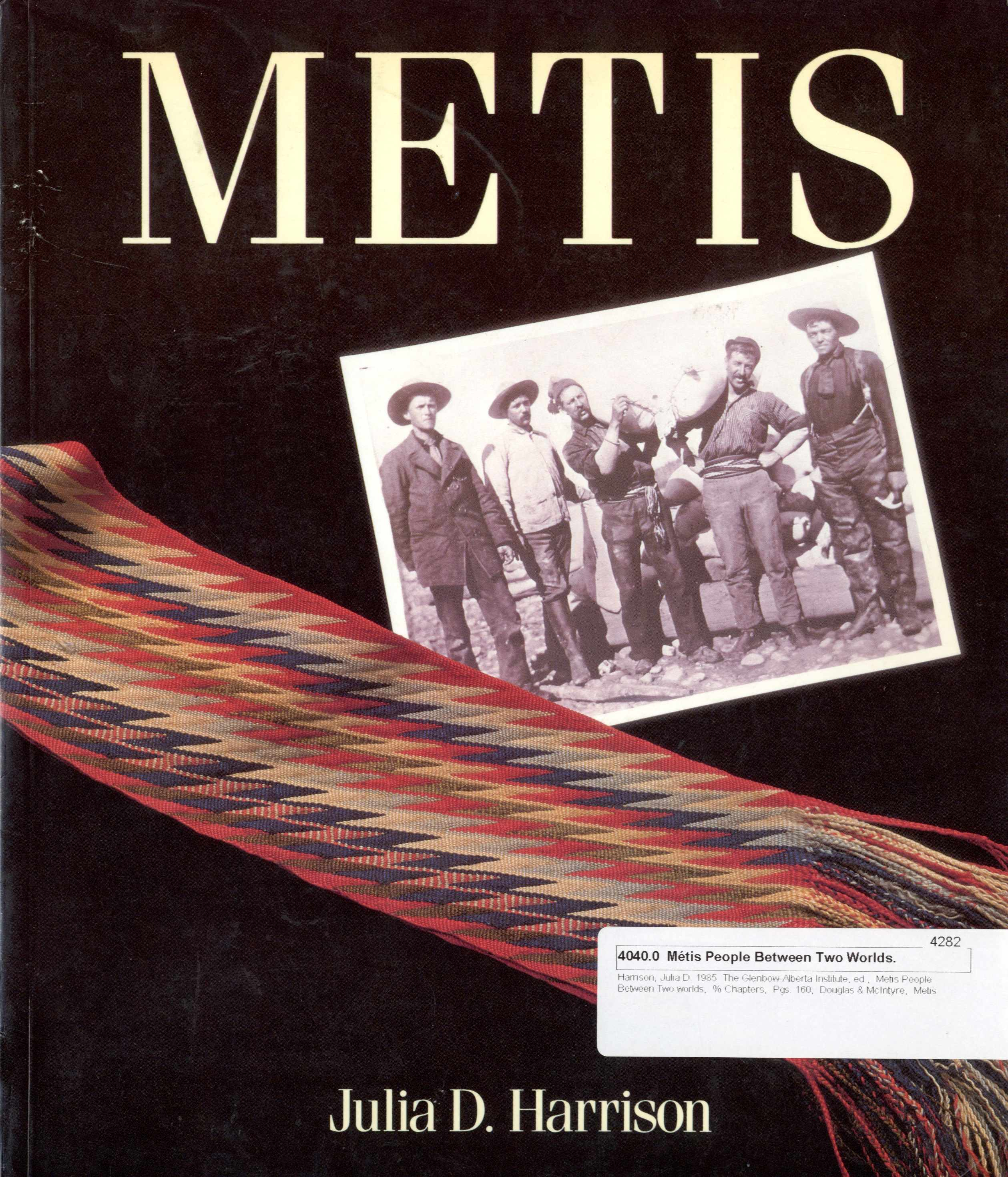 Metis, People Between Two Worlds Image